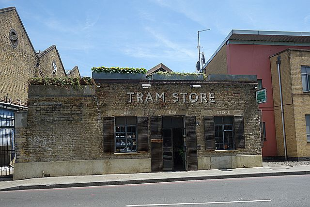 Tram Store, cafe and shop