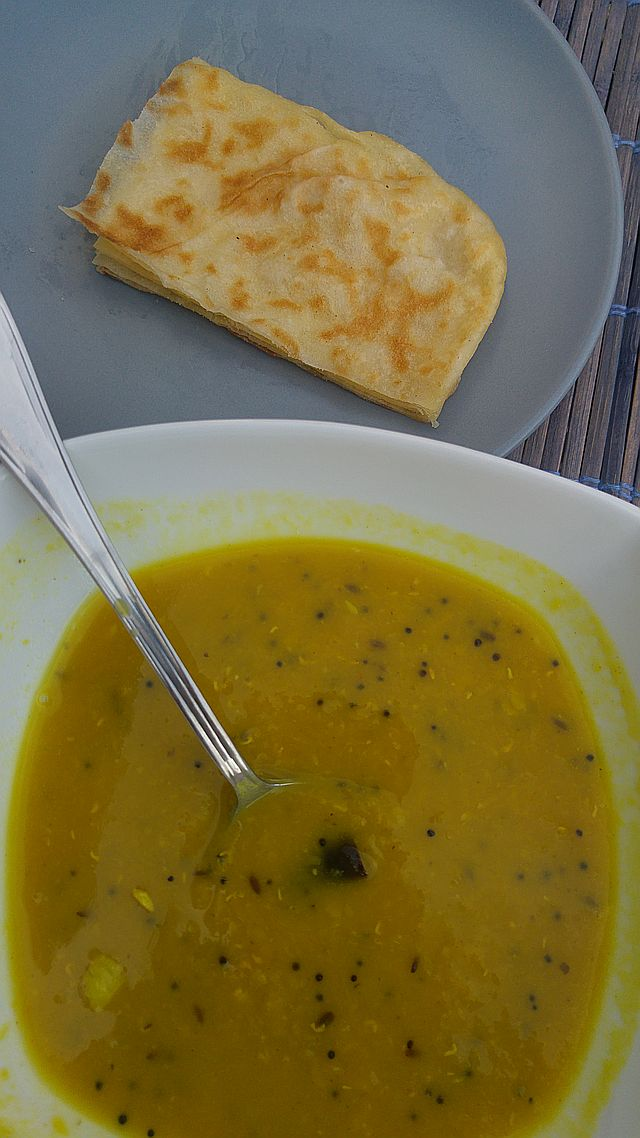 Dhal for breakfast